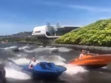 Jongeren racen met motorbootjes over Westlandse wateren