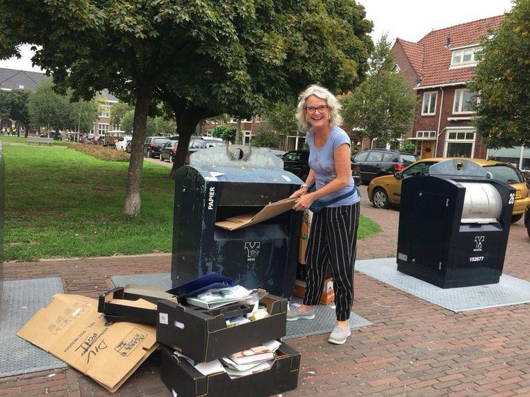 Verpakkingen zoveel mogelijk weggooien, tipt Geerte Bijvoet van 'Tante Sjaan Pakt Het Aan' Beeld Geerte Bijvoet