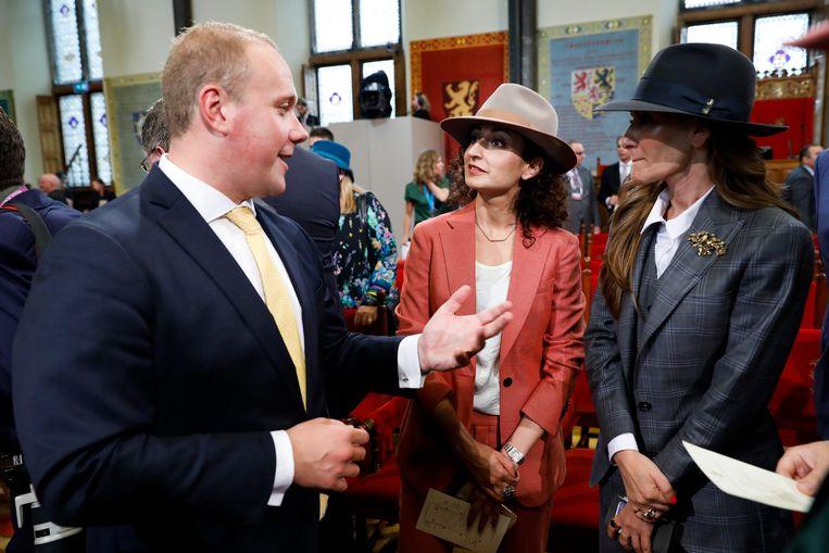 Kamerlid Thierry Aartsen in de Ridderzaal op Prinsjesdag.  Beeld ANP