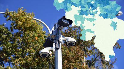 IN KAART. De politie ziet u, in Vlaanderen toch: 26 keer meer slimme camera's dan in Wallonië