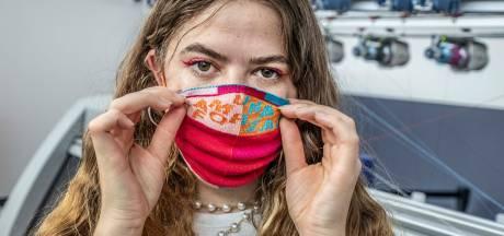 Hip mondkapje nodig? Het Textielmuseum maakt een serie modieuze exemplaren
