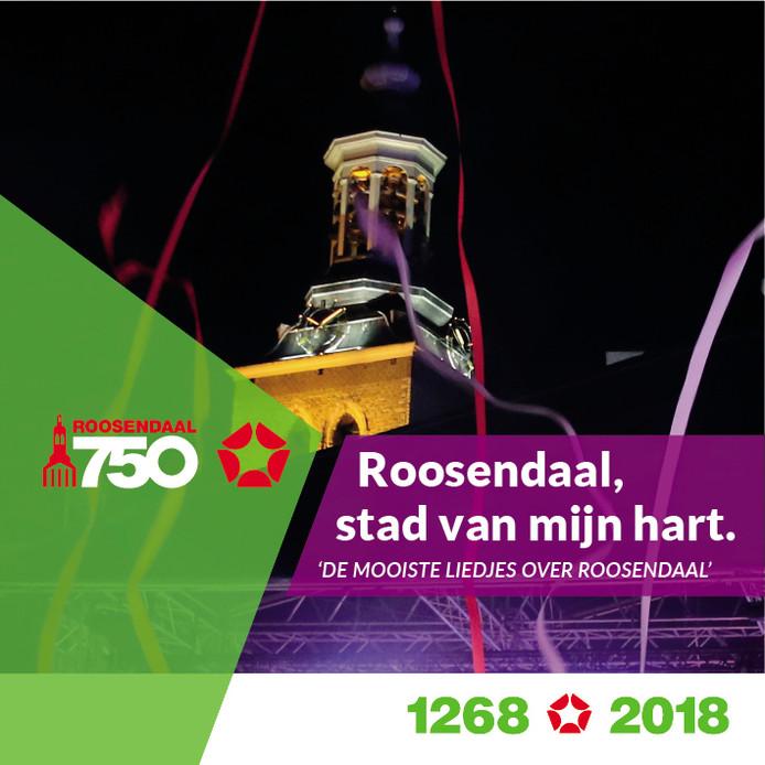 De cd 'Roosendaal, stad van mijn hart' zal vrijdag 7 december om 17.00 uur in café De Moriaan gepresenteerd worden.