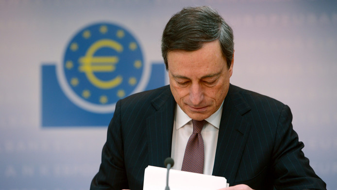 ECB-president Mario Draghi.