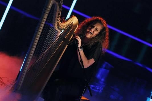 Iris en haar harp.