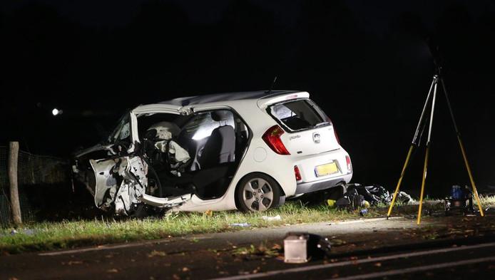Het ongeluk op de Bosschebaan bij Sint-Michielsgestel.