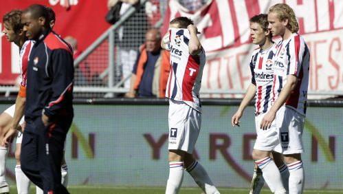 Ricardo Ippel (M) van Willem II na de verloren wedstrijd tegen FC Twente (4-0). ANP