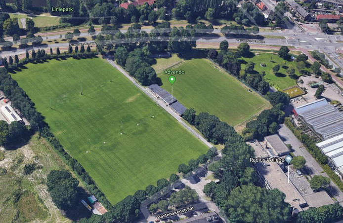 Sportpark 't Kadijkje ligt tegen de noordelijke rondweg in Breda aan. In het midden staat het clubgebouw van Advendo. Het is de bedoeling dat ook SC Hoge Vucht op het complex een eigen kantine krijgt.