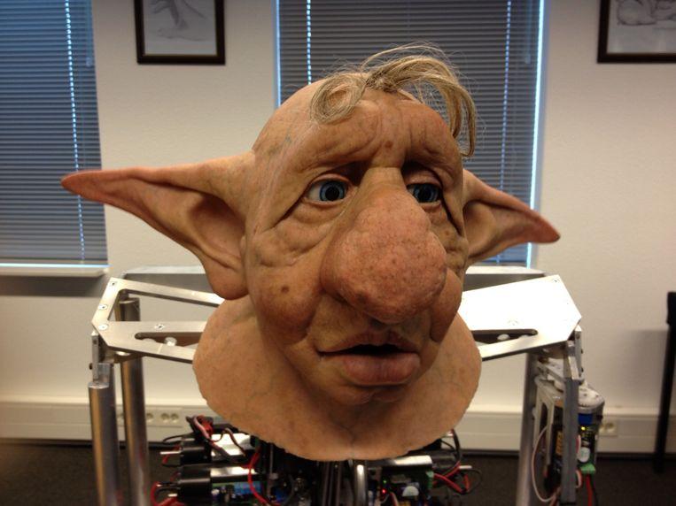 Knurt, mascotte van WitchWorld Beeld WitchWorld