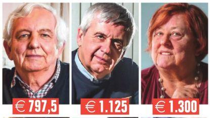 """Van 797 euro tot 2.500 euro per maand, zes Vlamingen getuigen: """"Met dit pensioen moeten wij het doen"""""""