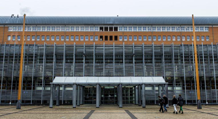 De rechtbank in Den Bosch, waar Vincent M. vandaag werd veroordeeld. Beeld ANP