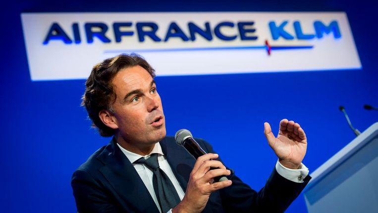 Minister van Verkeer Camiel Eurlings (CDA) werd in 2011 vijf maanden na zijn aftreden KLM-bestuurder. Beeld null