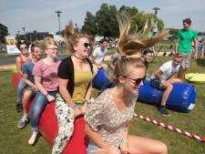Studentencamping op de Wageningen Campus tijdens introductiedagen