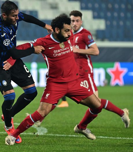 Liverpool tegen Atalanta weer met Mo Salah