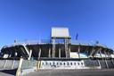 Stadion Atleti Azzurri was hard toe aan een verbouwing.