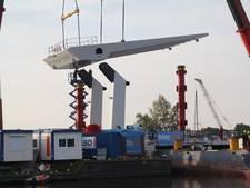 Tweede hijsklus Rijnhavenbrug geslaagd