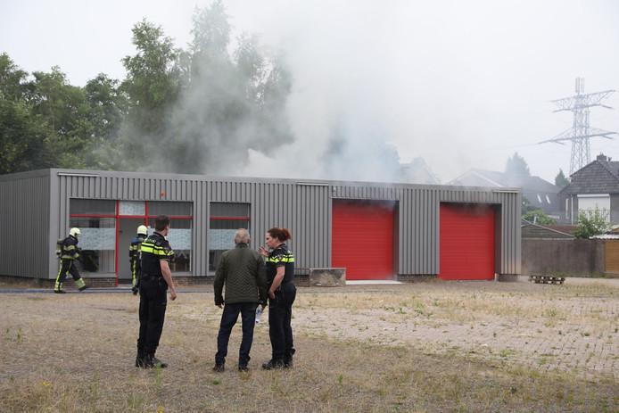 Een uitslaande brand in Oss.