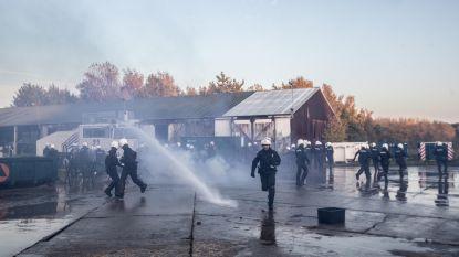 FOTO'S. Grote politie-oefening op site van Civiele Bescherming