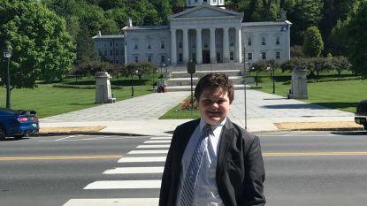 Veertienjarige doet gooi naar gouverneurschap van Vermont