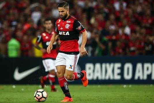 Diego, de spelmaker van Flamengo.
