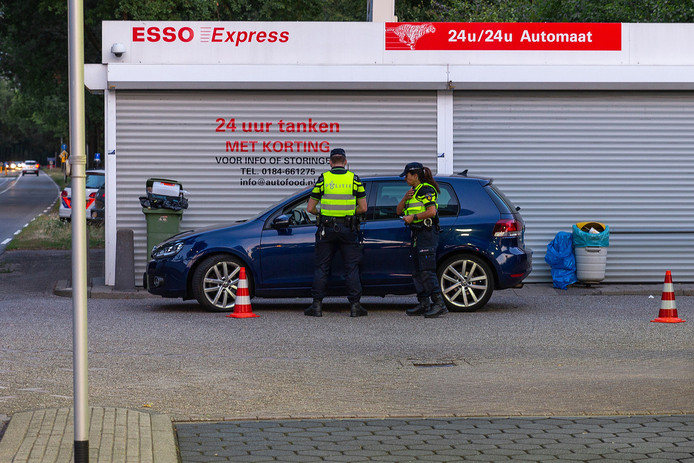 Alcoholcontrole in Oosterhout.