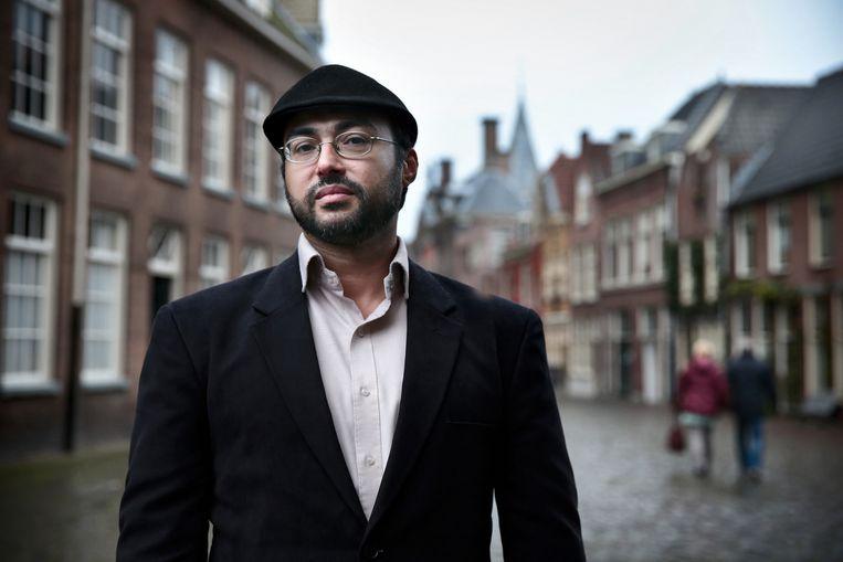 Blogger El-Baghdadi: 'Overdreven, die angst voor moslimmigranten met extreme ideeën. We maken het spook groter dan het is.' Beeld Jean-Pierre Jans