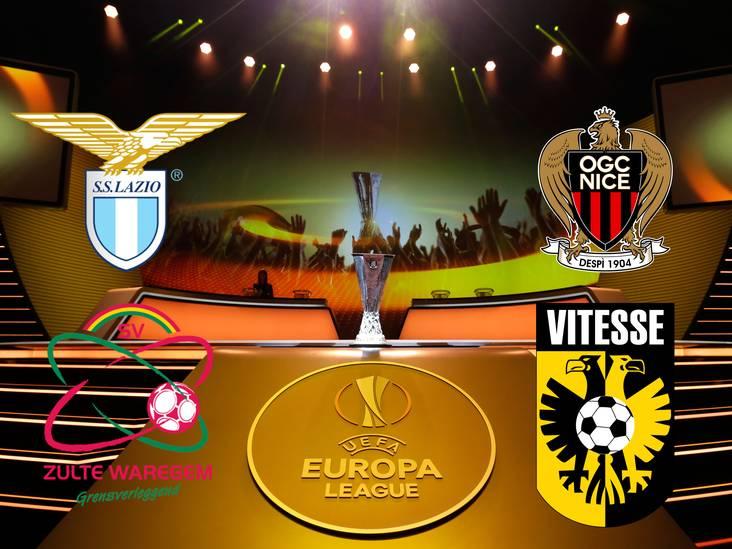 Eindstand: ruim 600 supporters Vitesse naar Nice