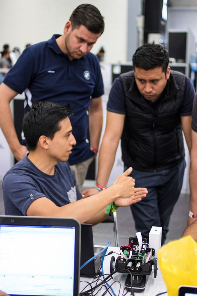 Activiteiten tijdens de vorige editie van Talent Land in Guadalajara, Mexico.
