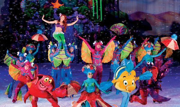 Weekend Bijblijven  ->Disney on ice met sophie de waele en dochter