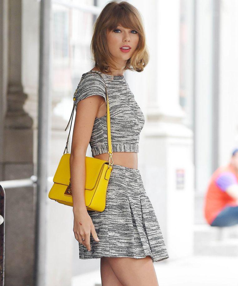 Taylor droeg al tal van gelijkaardige outfits