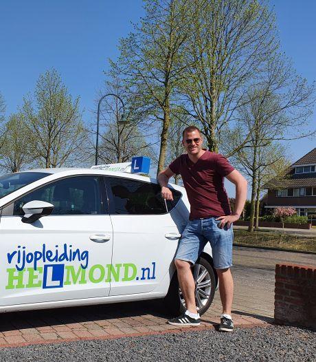 Rijschoolhouder uit Helmond over impact corona: 'Ik moet toch bij het stuur kunnen'