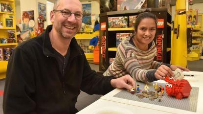 LEGO-figuurtjes in ruil voor frank (ook de waardeloze munten)