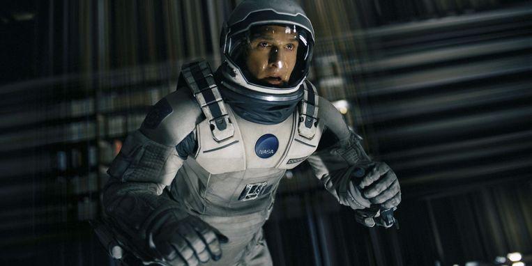 Matthew McConaughey in Interstellar. Beeld