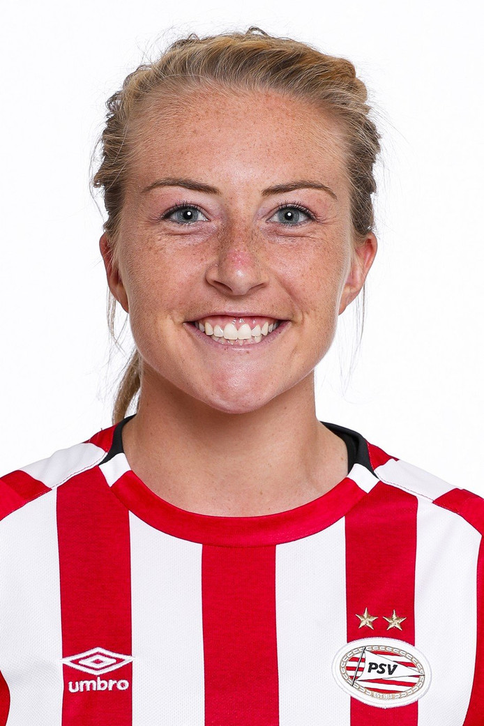PSV-speelster Maddy Williams.