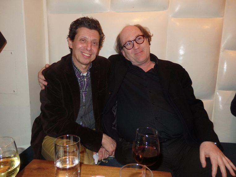 Producent Paul Trijbits en oud-Cinecenterdirecteur Robert Swaab: 'Wat een mooie film, zeg. Tranen over mijn wangen.' Hij heeft het over Lady Bird, en alle begrip Beeld Schuim