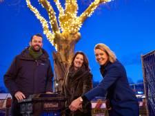 Bouwplaats en station Gorinchem in kerstsfeer