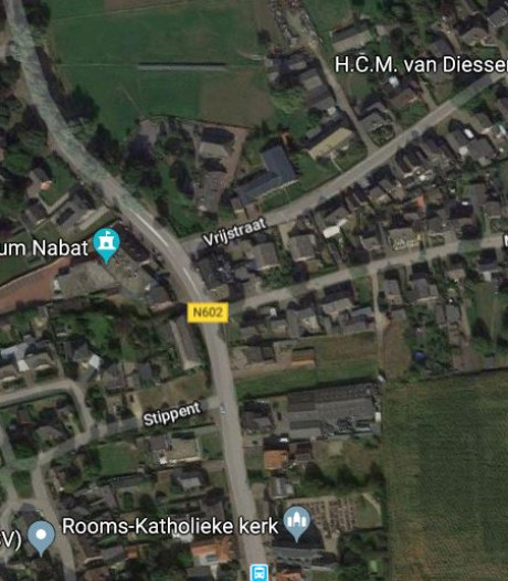 Werk aan Dorpsstraat Ledeacker (N602) ligt deze week stil vanwege de vorst