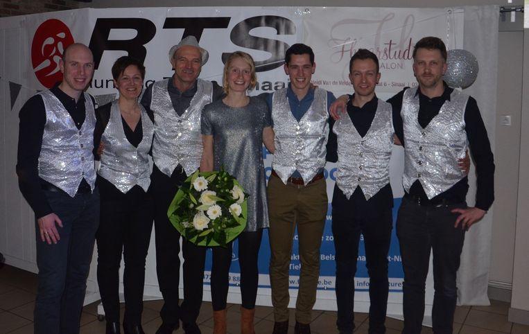 Ook Lotte Claes was van de partij. Zij is Belgisch kampioene duatlon en nam deel aan Kamp Waes.