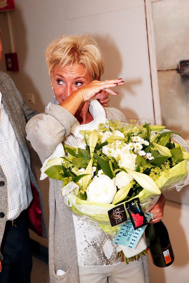 Bij haar gedwongen afscheid van 'Familie' drie jaar geleden, vloeiden er heel wat tranen.