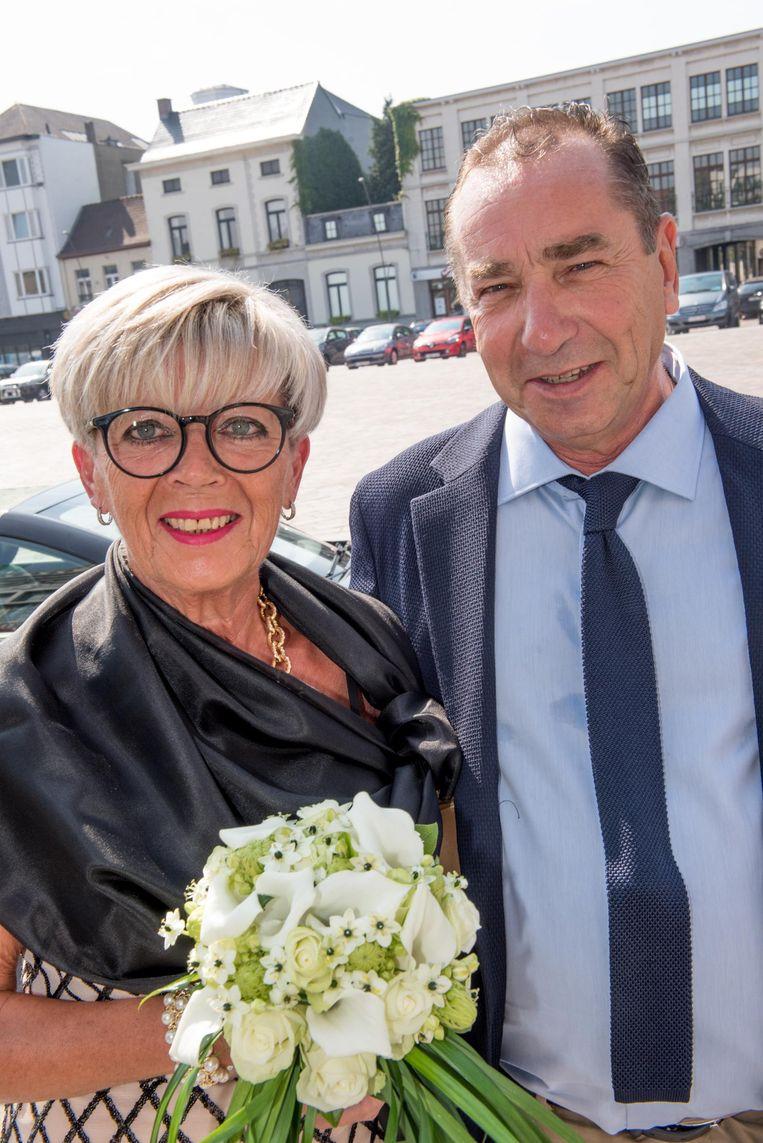 Martin Dejonghe en Claudine Merchiers.