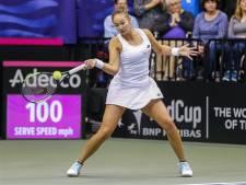 Lesley Kerkhove kopvrouw van Fed Cup-team