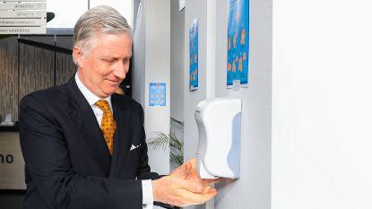 Van koning tot musicalbezoeker: iedereen wast handen