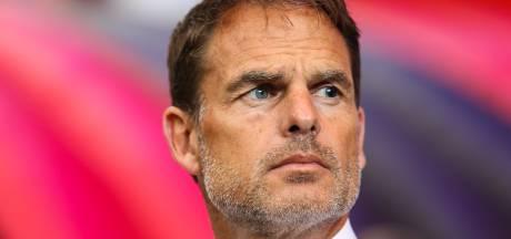 'Vereerde' Frank de Boer niet benaderd door KNVB