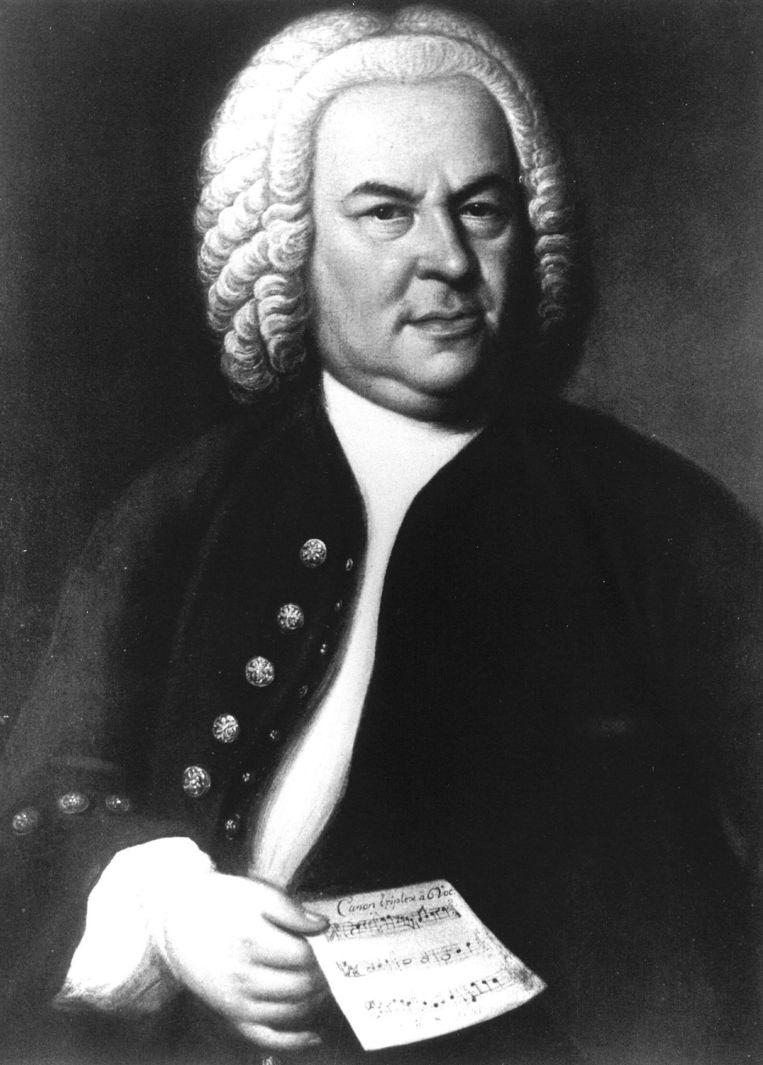 De Duitse componist Johann Sebastiaan Bach. Beeld anp