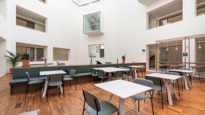 Blokkende studenten welkom in coworkingplek 'Spaces Kardinaal Mercierplein'
