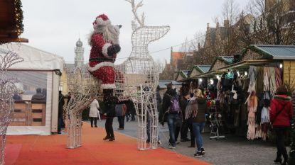 Nieuwe kerstmarkt, want er zit sleet op