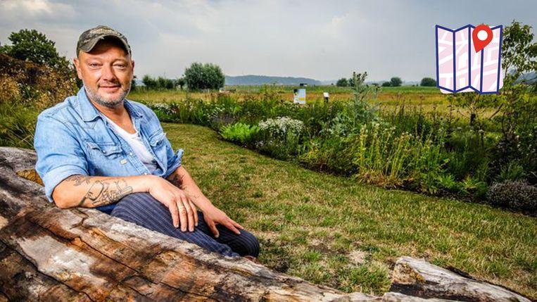 Het mooiste plaatsje van Dominique Persoone is de bijenweide in Sijsele bij Damme.