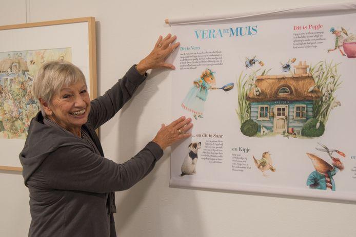 Marjolein Bastin exposeerde vorig jaar ook al in Nunspeet.