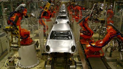 """Europese auto-industrie vreest ware """"aardschok"""" bij 'no deal'-brexit"""