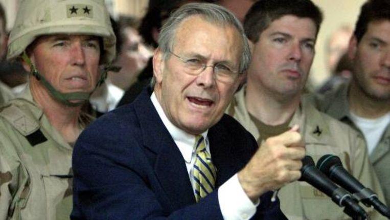 Donald Rumsfeld (EPA) Beeld