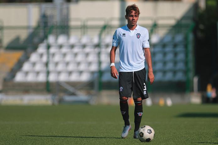 Nieuweling Giacomo Quagliata begon in de basis bij Heracles 2.
